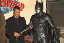 Clooney suit touch