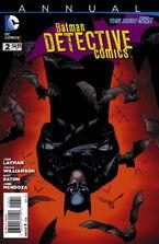 Detective Comics Annual Vol 2-2 Cover-1
