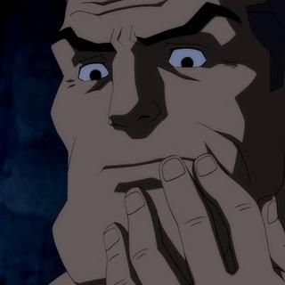 Bruce sin bigote.