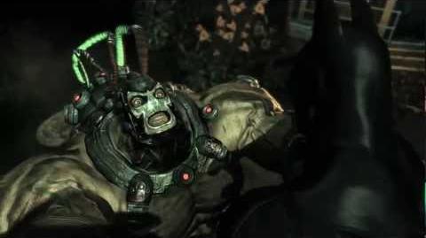 """Batman Arkham Asylum """"Combat"""" Trailer"""