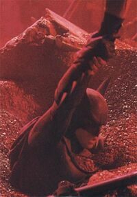Batman Forever - Robin saves Batman