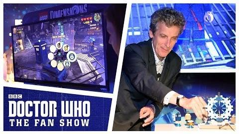 Primer vistazo de Doctor Who.
