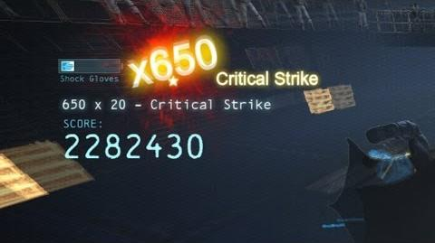 'Arkham Origins' 663 hit combo FLAWLESS in '100 to 1' with 2,478,335 points ALL MEDALS