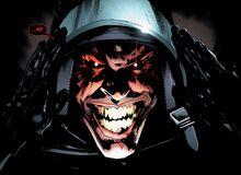 The Batman Who Laughs Gesicht