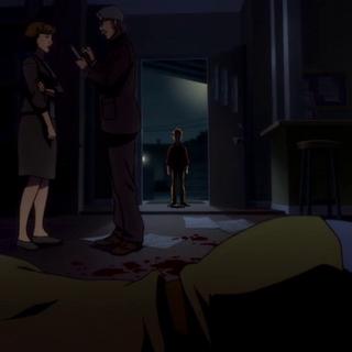Barry ve el cadáver de su madre
