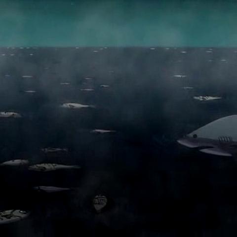 El océano también sufrió bajas.