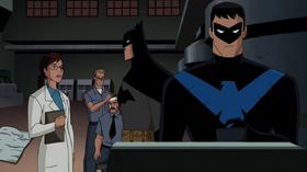 Batman y Nightwing investigan el robo