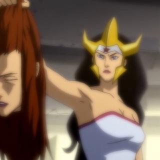 Diana mata a la reina