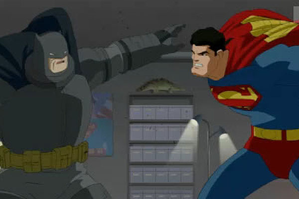 Resultado de imagem para the dark knight returns part 2