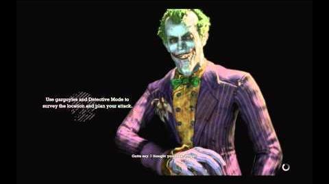 Batman Arkham Asylum - Joker's Game Over lines