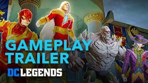 DC Legends - Trailer Gameplay