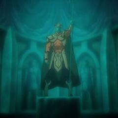 La armadura del rey.