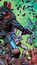 Sasha in Convergence- Batman and Robin vol 1 part 2