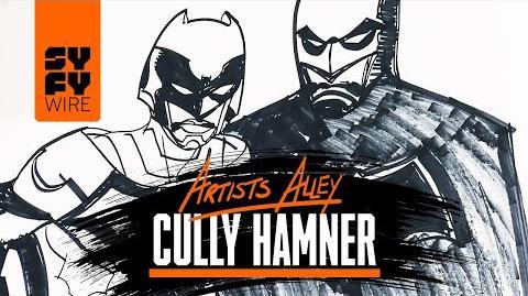 Watch Cully Hamner Sketch Batman And The Signal C2E2 SYFY WIRE