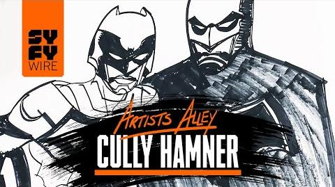 Watch Cully Hamner Sketch Batman And The Signal C2E2 SYFY WIRE