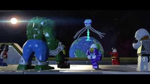 LEGO Batman 3 Más Allá de Gotham – Tráiler de Brainiac HD