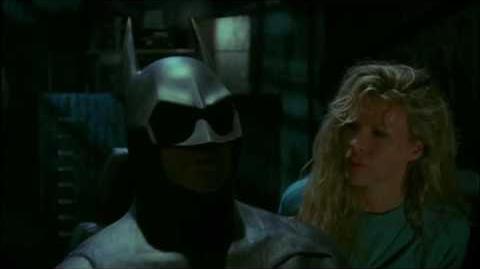 Batman 1989 Vicki In The Batcave