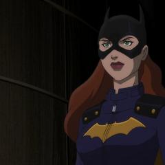Aparece Batgirl.