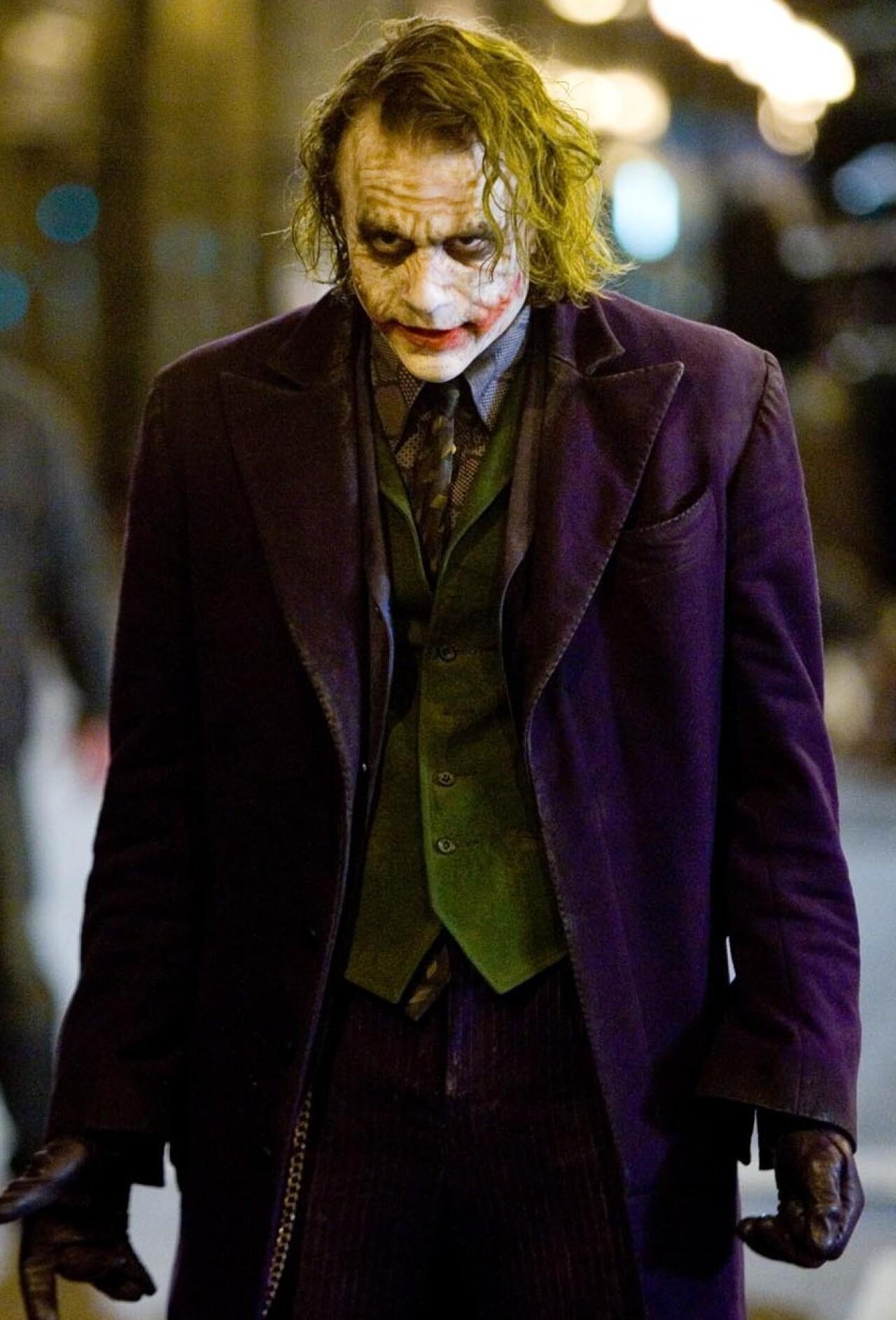 Brand New Batman The Dark Knight Rises The Joker Adult Mask with Hair