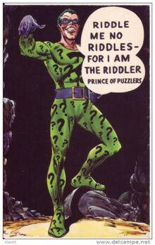 THE RIDDLER - O CHARADA