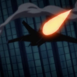 El Batwing persigue el helicóptero