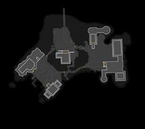Clean Arkham Asylum Map - Unlabeled (By BennettF)