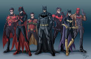 Batfamily of the new 52