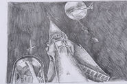 Julian Caldow storyboard