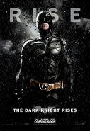 TDKR Batman poster
