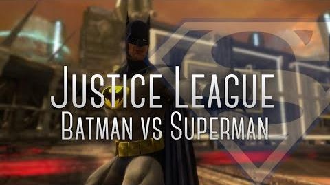 Batman vs Superman trajes alternativos
