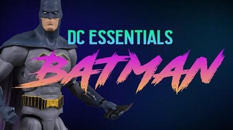 DC Essentials Batman (and some special Batman figures from the past)