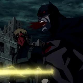 Batman recibe un disparo