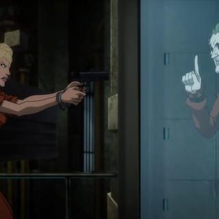 Harley le dispara a su amado
