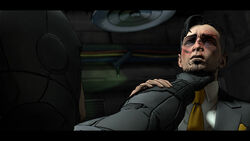 Batman defeats Penguin (Telltale)