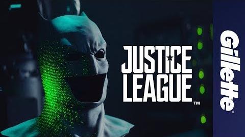 Liga de la Justicia & Gillette - Lo mejor que puede obtener un superheroe