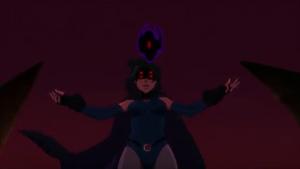 Raven aprisiona a su padre
