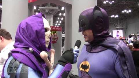BATMAN '66 Cosplay! Interview By Unemployed Skeletor!