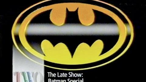 Bat Special (The Late Show, 1989) - Very rare!