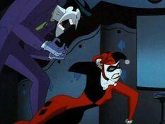 Joker Yelling at Harley