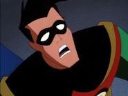 Dick Grayson Shocked