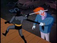 Batman vs clown