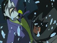 Batman fighting joker
