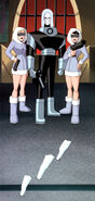 Mr. Freeze and his henchgirls