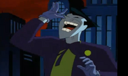 Joker teasing batman