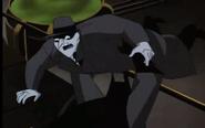 Batman throws jack napier