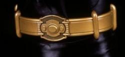 Brass belt