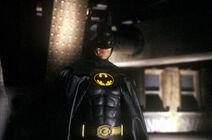 Keaton in costume