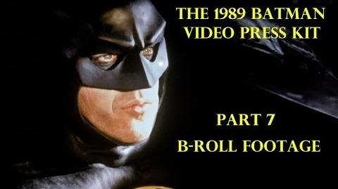 1989 Batman Video Press Kit Part 7 B-Roll Footage 1989Batmanmovie.com Making Of Deleted Scenes