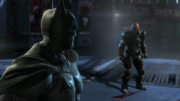 BAO-Deathstroke vs Batman