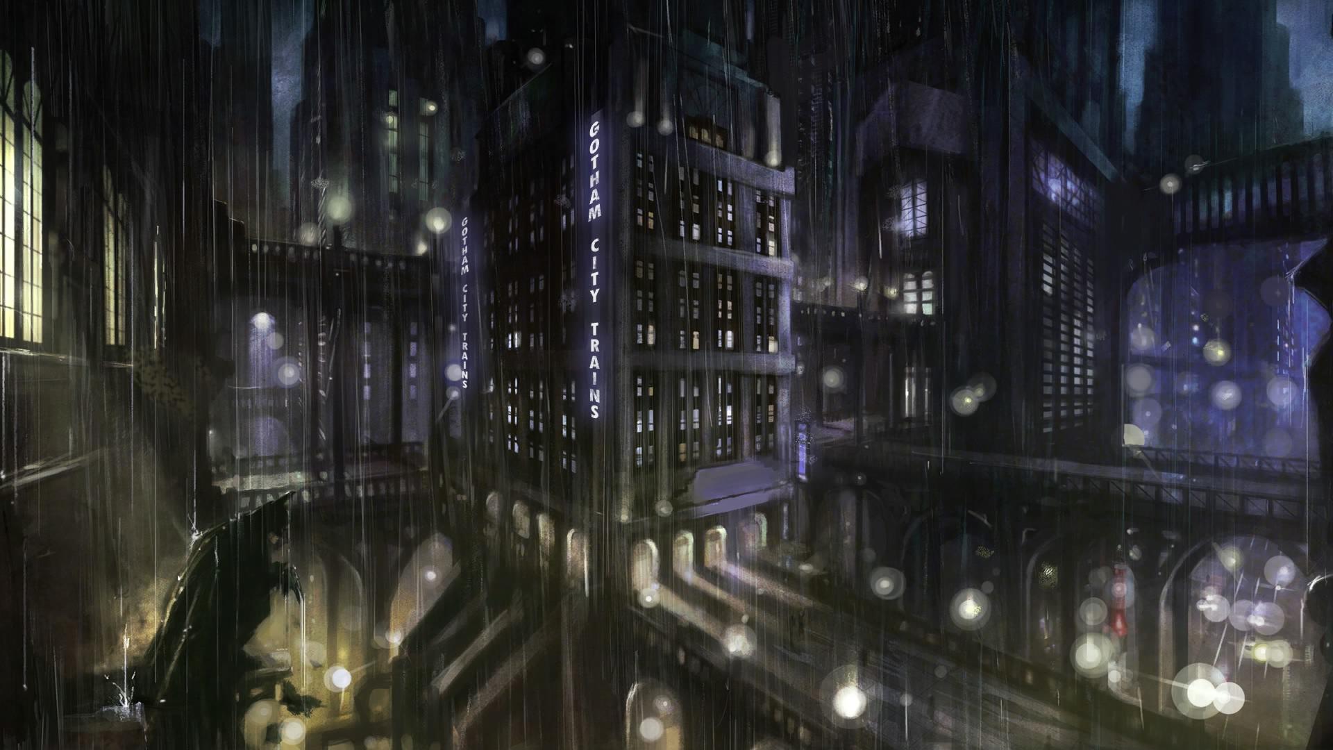 Image Bak Gct Building Conceptjpg Batman Arkham Wiki Fandom